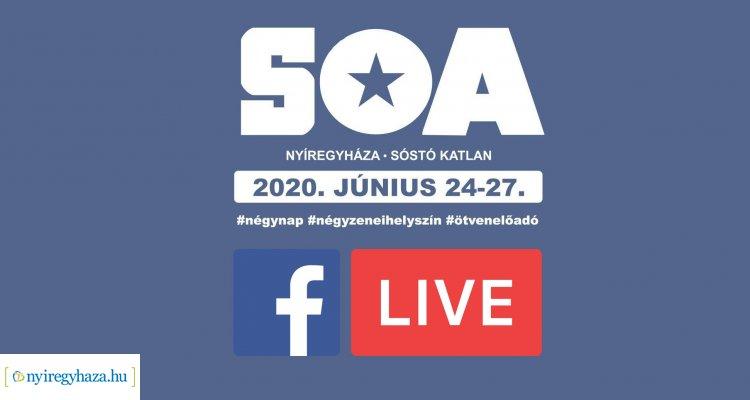 Sóstó Open Air – Minden kiderül, élőben jelentkezünk a sajtótájékoztatóról!