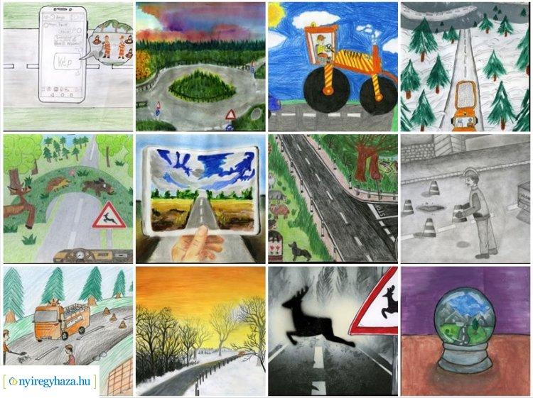 Elindult a Magyar Közút Álomút rajzpályázatának közönségszavazása