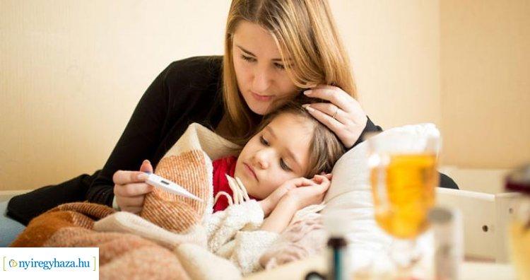 Lassan, de terjed az influenza! A leggyakrabban a gyerekek között fordul elő megbetegedés