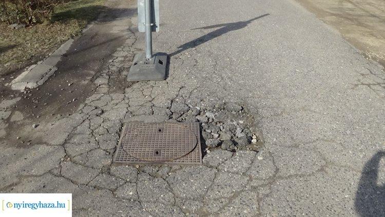 Forgalomkorlátozás várható a Rigó utcán – Útburkolati hibát javítanak