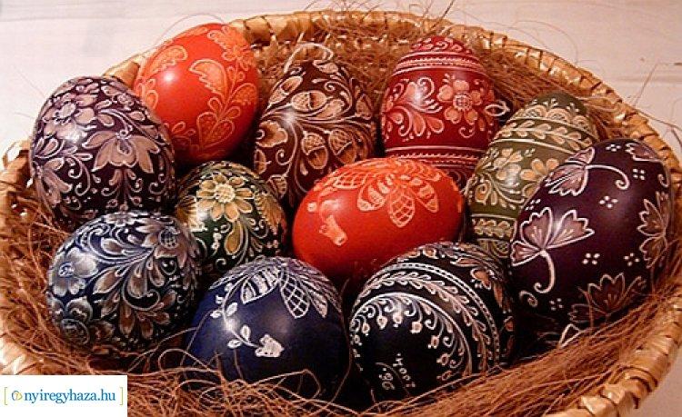 Díszes tojások - ékes motívumok címmel nyílik kiállítás a Jósa András Múzeumban