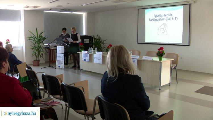 """""""A rák ellen együtt, egymásért"""" címmel tartott előadást az Egészségfejlesztési Iroda"""