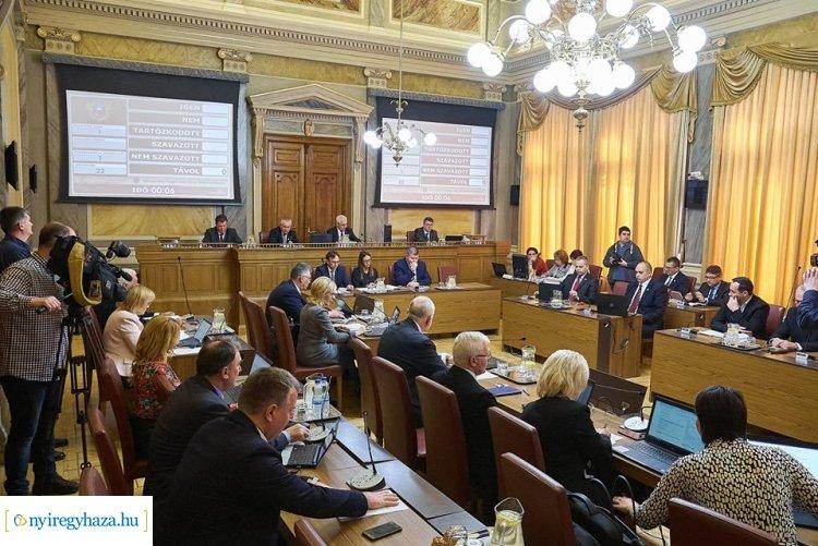 A civil szervezetek támogatásáról is döntött a közgyűlés csütörtökön