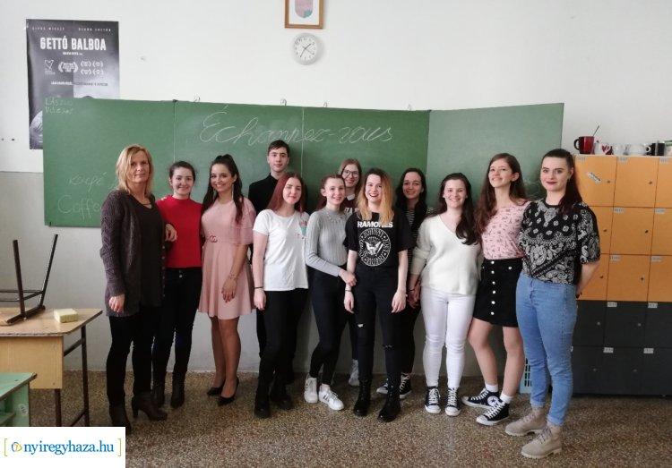 """Franciául """"drámáztak"""" a Kölcsey diákjai, hogy kiszabadulhassanak egy szabadulószobából"""