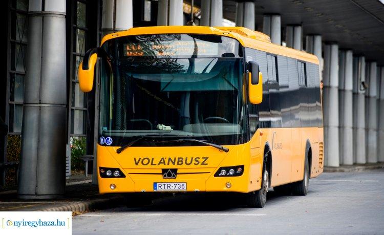 A Volánbusz nyíregyházi járatai a megszokott rendben közlekednek, jegyek elővételben