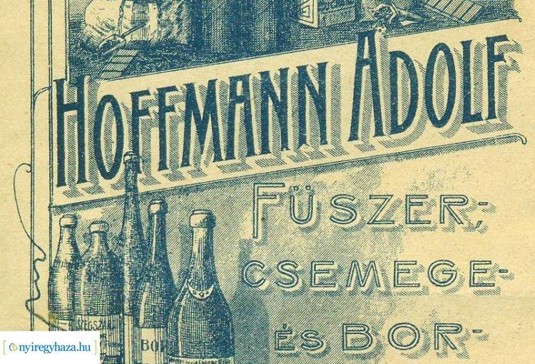 Folytatódik az Amiről az utcák mesélnek sorozatunk – Hoffmann Adolf, a kereskedő