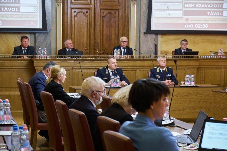 Rendkívüli óvintézkedések mellett tartották meg Nyíregyháza Megyei Jogú Város Közgyűlését