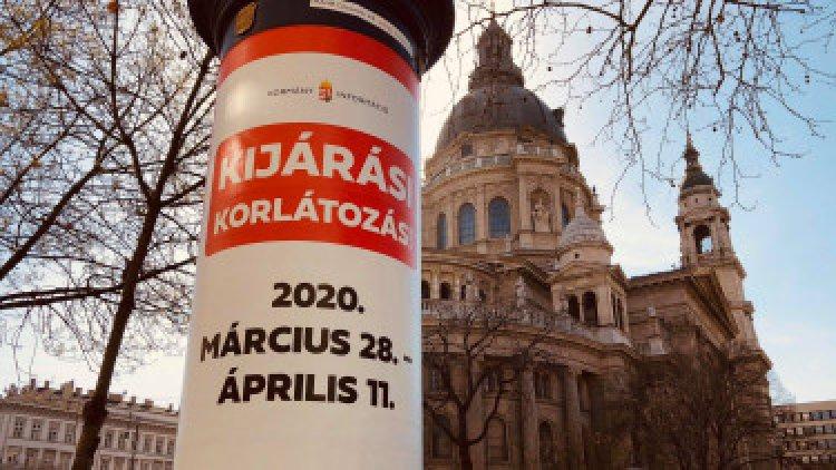 Újabb sajtóközlemény érkezett – Április 11-ig kijárási korlátozás van érvényben