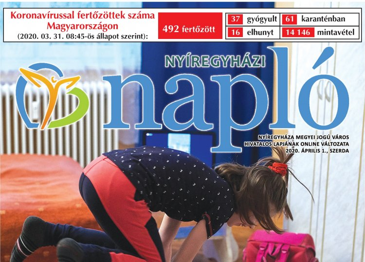 Otthon készülnek a Szpari labdarúgói! Olvassa a szerdai Nyíregyházi Naplót, digitálisan!
