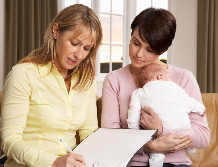 A védőnők a járvány idején is a családok rendelkezésére állnak