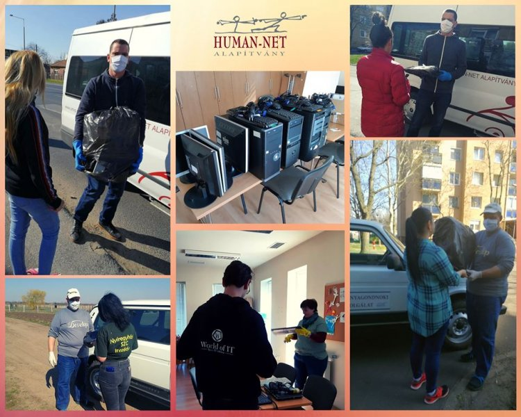 Okoseszközökkel segíti a rászorulókat a Human-Net Alapítvány – A gyűjtés még tart!