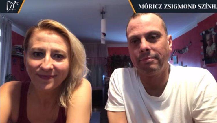 7óra 7perc – Széles Zita és Tóth Zolka színművészek ismét egy közös videóban jelentkeztek