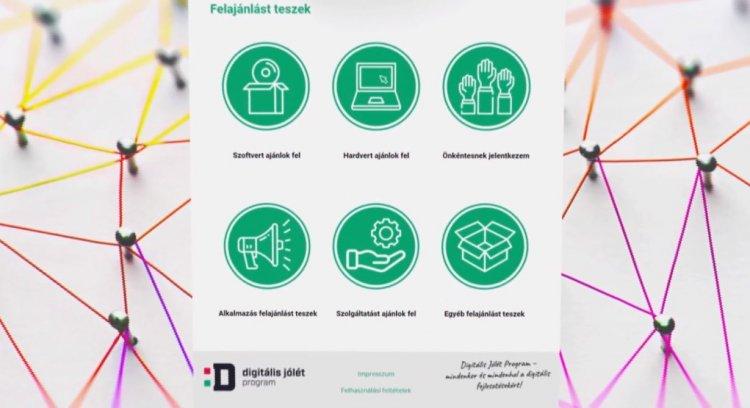 Már több mint 350 felajánlás a Digitális Összefogás akcióban