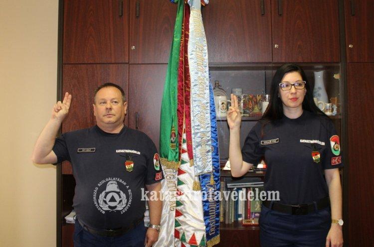 Első tiszti kinevezések a Szabolcs-Szatmár-Bereg Megyei Katasztrófavédelmi Igazgatóságon
