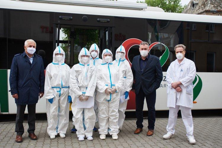 Koronavírus-szűrésre 205 nyíregyházit választottak ki, vasárnapig tart a mintavétel