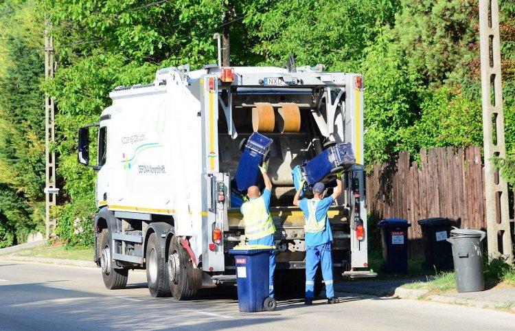 Pünkösd hétfőn a hulladékszállítás a megszokott járatrend szerint történik