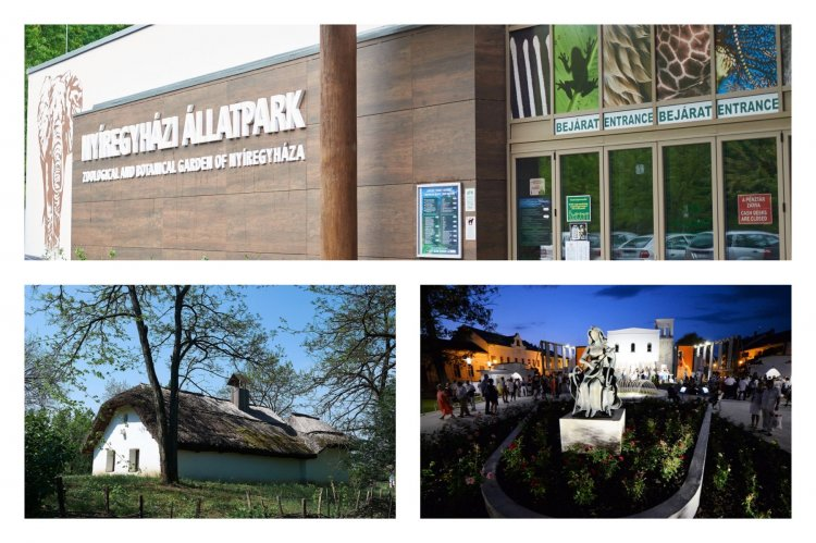 Pünkösdi hétvége a múzeumfaluban és az állatparkban, valamint Édes Charity a Sziesztában