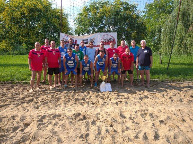A Fáraó volt a legjobb a homokban - Strandfoci tornát rendeztek a hétvégén