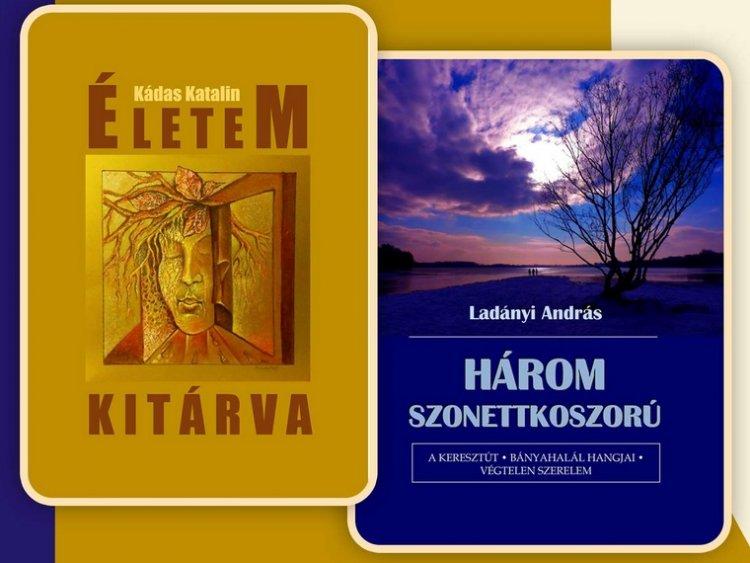 Kádas Kati és Ladányi András köteteinek közös bemutatója a Móricz Zsigmond könyvtárban