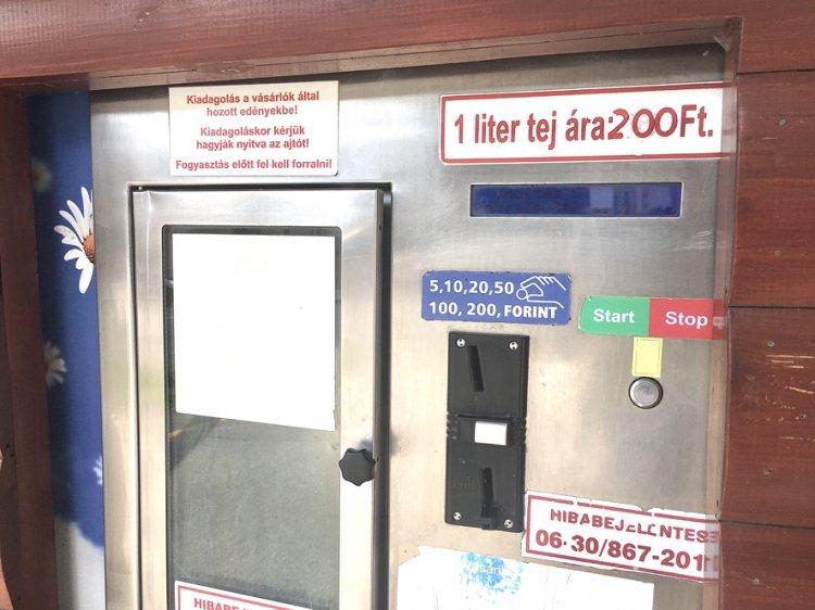 Tejautomata-láz: már nem úgy fogy a házitej, mint két éve