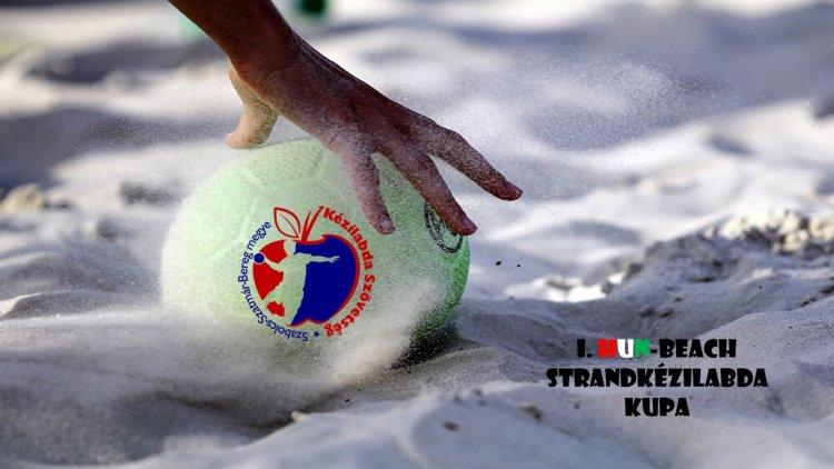 Strandkézilabda Sóstón - Augusztusban rendezik az I. HUN-BEACH tornát