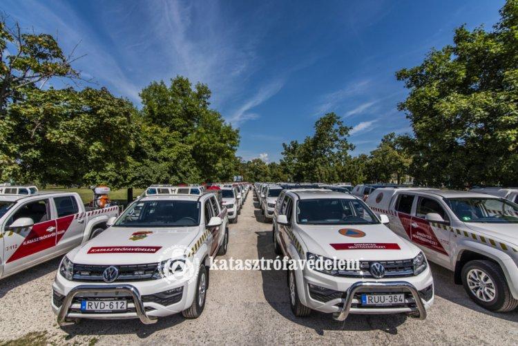 Katasztrófavédelem: új járművek több mint egymilliárd forintért