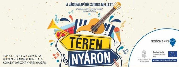 Jön a Téren-nyáron – Felpezsdült a város zenei vérkeringése, újabb koncertsorozat indul!