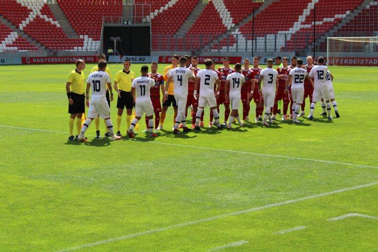 Edzőmeccs Debrecenben - A DVSC ellen játszott a Nyíregyháza Spartacus