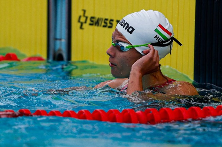 Egyéni csúcsok a nemzetközi versenyen - Jól szerepeltek a nyíregyházi úszók