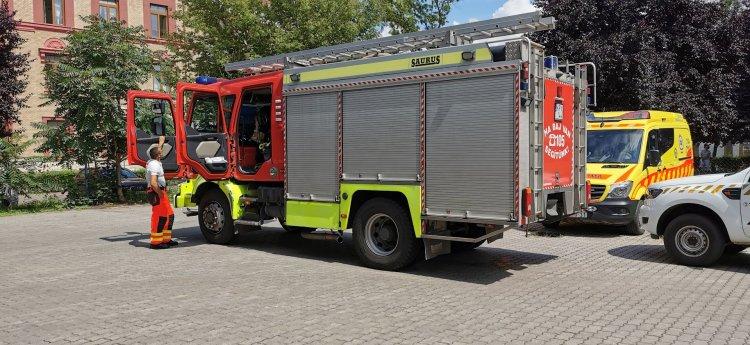 Füstöl a nyíregyházi mentőállomás tetőszerkezete! – érkezett a riasztás hétfőn