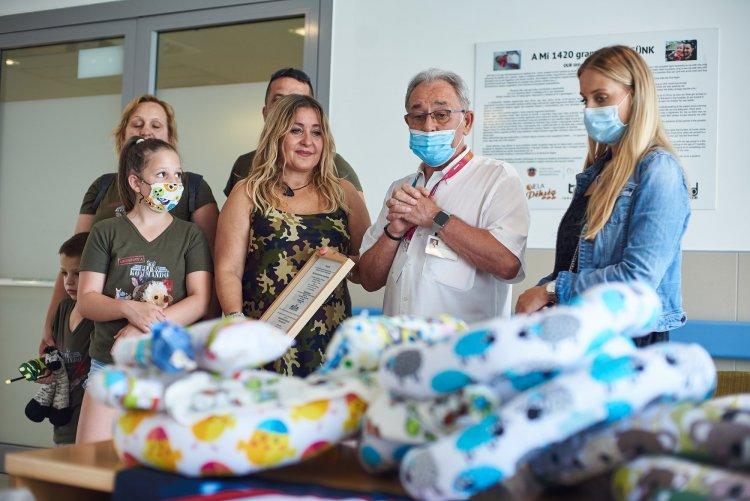 Milliós adomány a kórház nyíregyházi és fehérgyarmati koraszülött osztályának