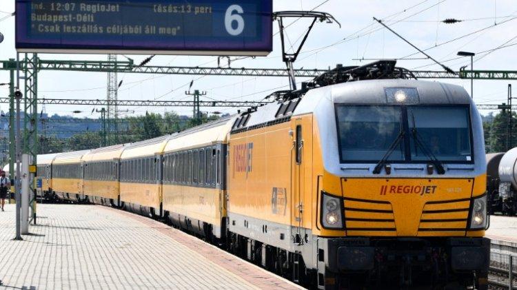 Közvetlen vasút Prágába: elindult a RegioJet Prága–Brünn–Bécs–Budapest útirányon