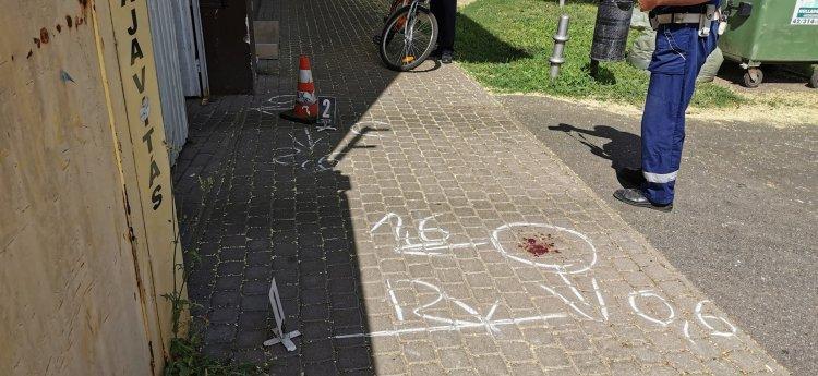 Biciklis és gyalogos ütközött a Bocskai utcán, vizsgálják a körülményeket