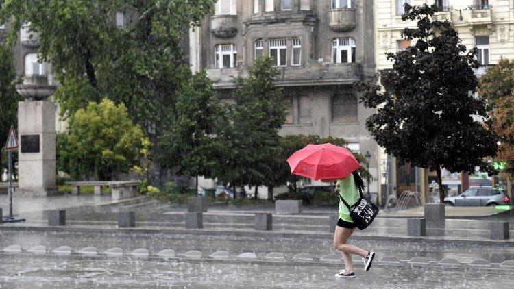 Országos Meteorológiai Szolgálat: délutáni zivatarveszélyre figyelmeztet a meteorológia