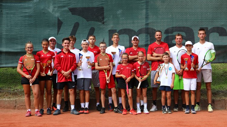 Nyíregyházi sikerek a teniszezők Korosztályos Vidék Bajnokságán