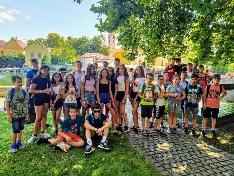 Tábori élmények – Bemes és gárdonyis diákok Szigligeten