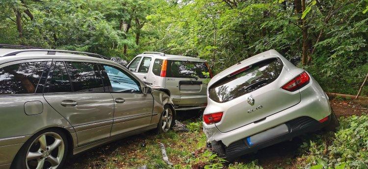 Több millió forintos anyagi kárral járó baleset történt szerda délután a Sóstói úton