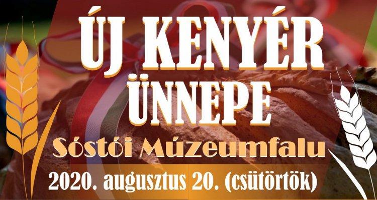 Kenyér Ünnepe a Sóstói Múzeumfaluban - augusztus 20-ai programok