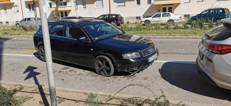 Jelentős anyagi kárral járó baleset történt az Arany János utcán