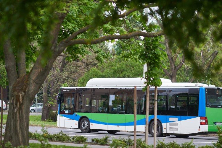 Zöld Busz Program Nyíregyházán is – Elektromos járművekkel zöldítik a közlekedést