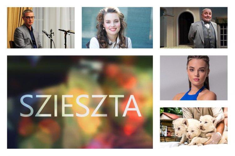 Szieszta – Pap Dorci, Dézsi Darinka, Mandala premier és Vikár pótfelvételi a témák között