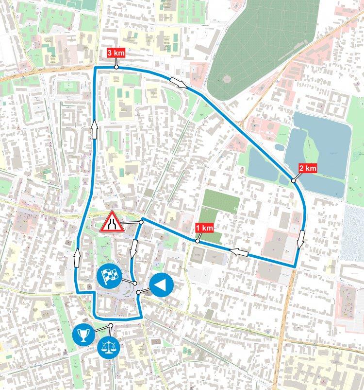 Visegrad 4 Juniors – Részletes térképen a csütörtöki lezárások