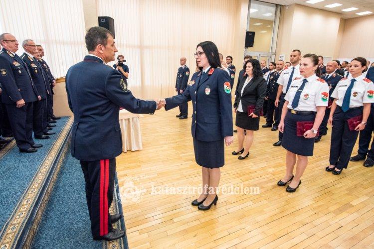 Elsőtiszti kinevezések az Országos Katasztrófavédelmi Főigazgatóságon