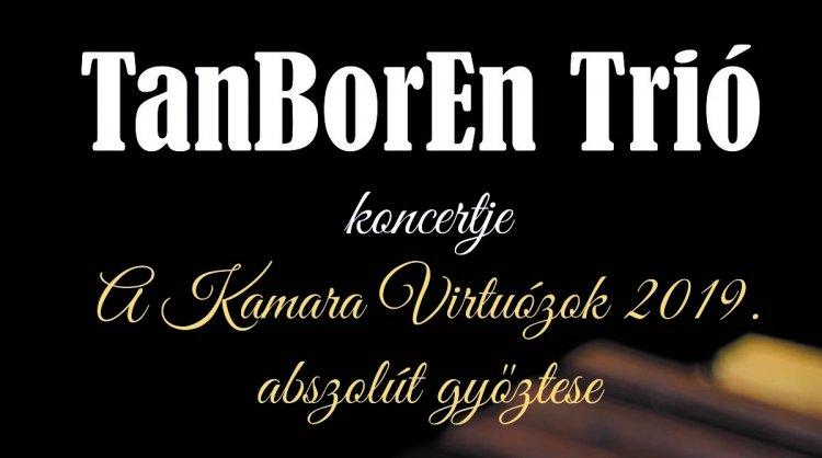 TanBorEn Trió koncert a Kállay Gyűjteményben szeptember 12-én