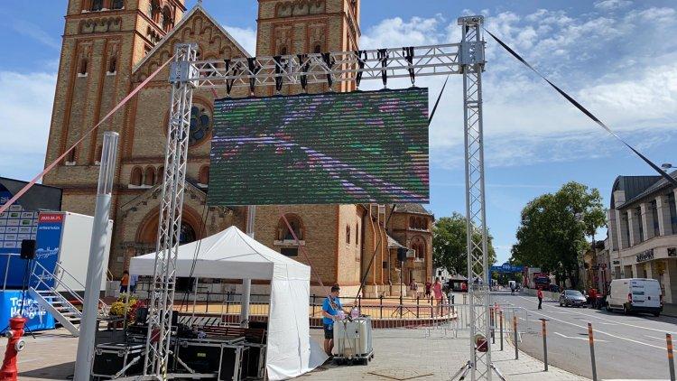 Tour de Hongrie: Már javában zajlik az előkészület Nyíregyházán, várják a befutókat