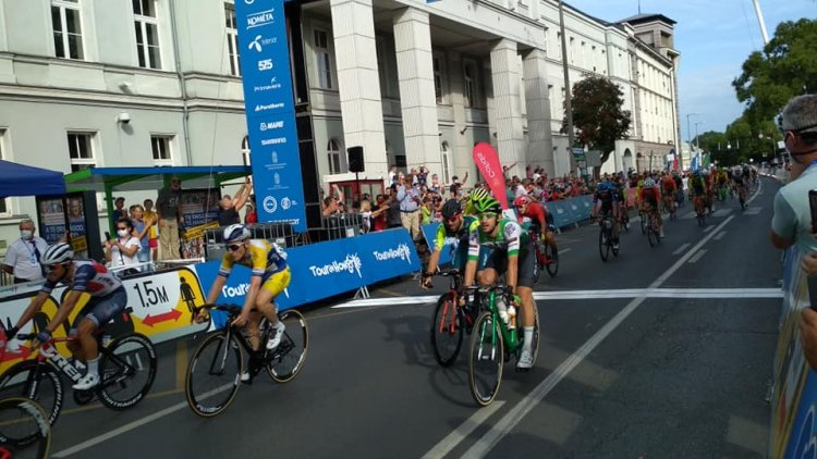 Olasz szakaszgyőzelem a Tour de Hongrie-n  - szoros volt a befutó Nyíregyházán