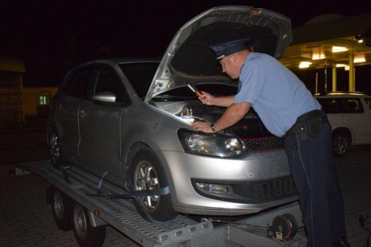 Körözött autó a csengersimai határátkelőhelyen