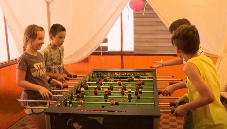 Az Önkormányzat idén is megszervezte a napközis táborokat önként vállalt feladatként