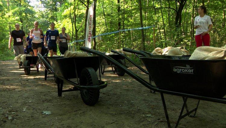 Élménypróba - 22 különleges akadály várta a nevezőket a sóstói erdőben