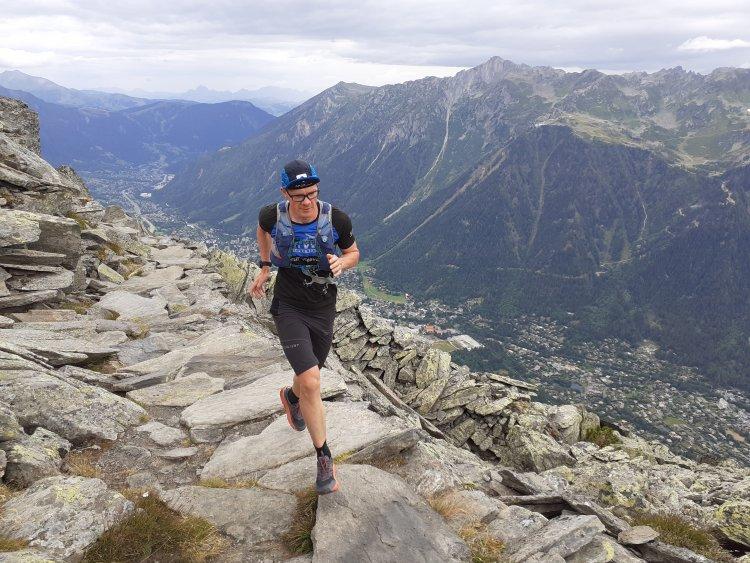 Szédítő helyen a nyíregyházi futó - Belus Tamás az Alpokban és a Tátrában is indult
